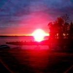 Balsam Lake Cottage Rental Lake House Sunset