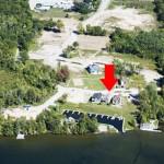 location of balsam lake cottage rental