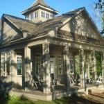 game room pavilion at balsam lake cottage rental